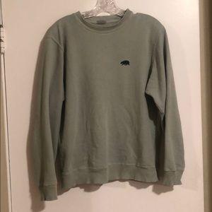 Brandy Melville Tops - Brandy/John galt bear embroidered sweatshirt